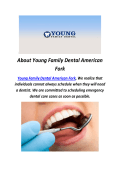Young Family Dentists in American Fork Utah