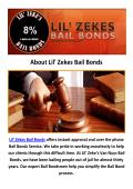 Lil' Zekes Bail Bonds Van Nuys