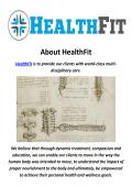 Health Fitness Center In Pasadena