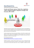 Glycolic Acid Market Analysis, Market Size, Application Analysis, Regional Outlook, Competitive Strategies And Forecasts, 2014 To 2020