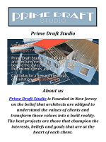 Prime Draft Studio Architects in Cedar Grove, New Jersey