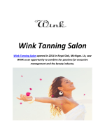 Wink Tanning Salon : Airbrush Tanning In Royal Oak