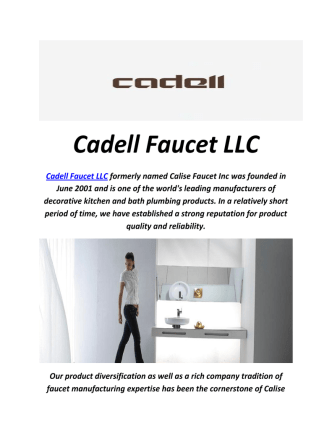 Cadell Bathroom Faucets Wholesaler in Frenso