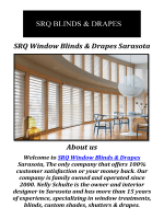 SRQ Window Blinds & Drapes Sarasota: Window Treatments Sarasota FL
