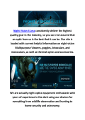 Buy Night Vision Binoculars at Night Vision 4 Less
