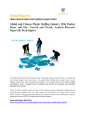 Global and Chinese Plastic Stuffing Industry 2016 Market Share and Size, Growth and Trends, Analysis Research Report By Hexa Reports