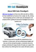 MM Cab in Chandigarh
