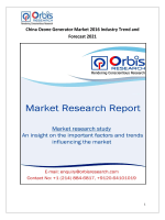 China Ozone Generator Market 2016-2021 Trends & Forecast Report