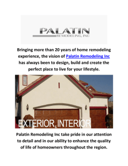 Palatin Home Remodeling In Los Angeles CA