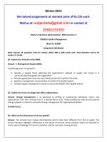 OM0016-Quality Management