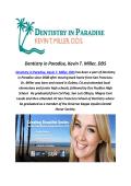 Kevin T. Miller, DDS Cosmetic Dentistry Service In Santa Barbara