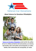 Veteran Car Donations Philadelphia
