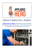 Appliance Hero | Appliance Repair In Brampton