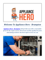 Appliance Hero | Appliance Repair In Brampton