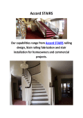 Accord STAIRS Spiral Wood Railing In Laguna Niguel CA