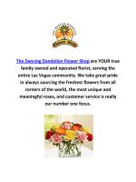 The Dancing Dandelion Flower Shop in las vegas, NV