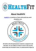 HealthFit Chiropractic In San Marino