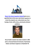 Music City Home Inspection in Nashvill, Tennessee