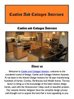 Interior Designers Sarasota: Castles and Cottages Interiors