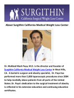 Surgithin : Bariatric Surgery Burbank