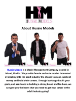 Hussie Models Adult Talent Managers