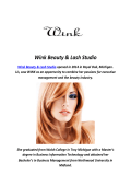 Wink Beauty & Lash Studio : Royal Oak Salons (248-496-1635)