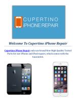 Apple iPhone Repair in Cupertino, CA
