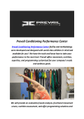 Gyms Santa Barbara CA : Prevail Conditioning Performance Center