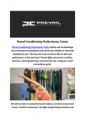 Gyms Santa Barbara CA : Prevail Conditioning Performance Center