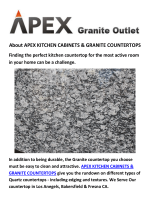 APEX KITCHEN CABINETS & GRANITE COUNTERTOPS IN LOS ANGELES CA