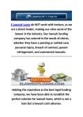 E Lawsuit Loans Funding Company In Millburn, NJ
