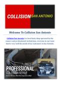 Collision Car Repair Service in San Antonio, TX