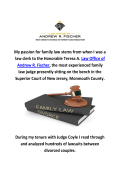 Law Office of Andrew R. Fischer Divorce Lawyers In Freehold, NJ