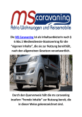 MS caravans Adria Travel in Norderstedt, 22851