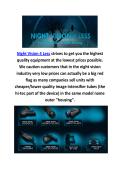 Buy Thermal Night Vision In Williston, VT