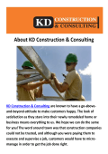 KD Construction & Consulting - Construction Companies Miami