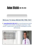 Anton Bilchik MD, PHD, FACS : Colorectal Cancer Surgery