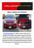 Collision Auto Repair San Antonio
