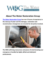The Water Restoration Group - Water Damage Repair in MiamiThe Water Restoration Group - Water Damage Repair in Miami