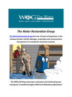 The Water Damage & Restoration Group in Miami, FL