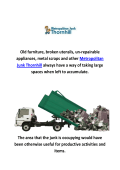 Metropolitan Garbage Removal In Thornhill, ON