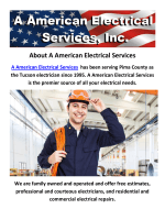 A American Electricians Services Tucson