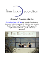 Firm Body Evolution : Private Gyms In West Hollywood