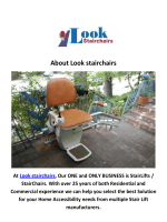 Look Stairchairs - Stairlift Los Angeles