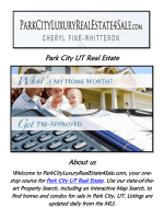 Park City Utah Real Estate | Call @435-225-2998 | Cheryl Fine-Whitteron