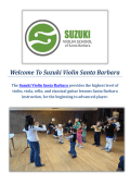 Suzuki Violin and Guitar Lessons in Santa Barbara, CA