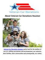 Veteran Car Donate Houston
