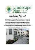 Landscape Plus LLC Design In Bucks County