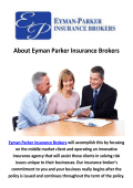 Eyman Parker Insurance Agents & Brokers in Santa Barbara