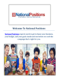 National Positions : Influencer Marketing Company in Los Angeles, CA